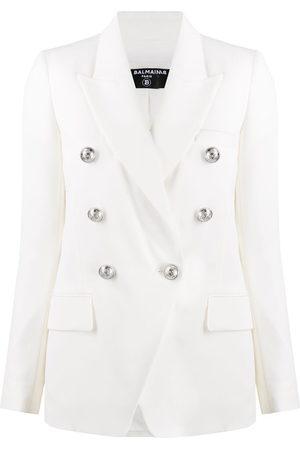 Balmain Damen Blazer & Sakkos - Embossed buttons double-breasted blazer