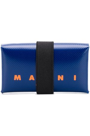 Marni Logo print leather wallet