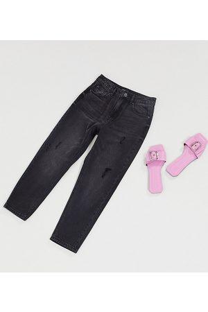 Vero Moda Damen Baggy & Boyfriend - Mom jeans with high waist in