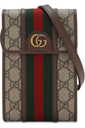 "Gucci Mini Umhängetasche Aus Gg-canvas ""ophidia"""