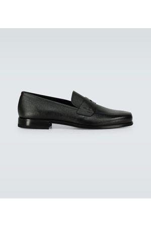 Prada Penny Loafers aus Saffiano-Leder