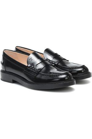 Tod's Loafers aus Lackleder