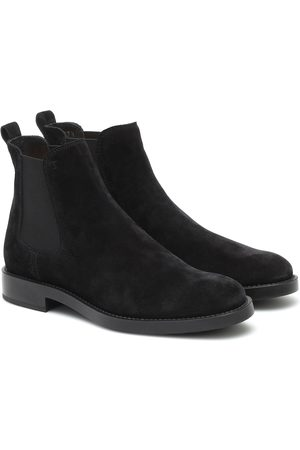 Tod's Chelsea Boots aus Veloursleder