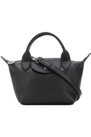 Longchamp Le Pliage Cuir mini bag