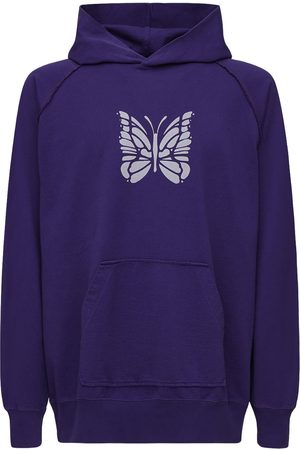 Pins & Needles Oversize Logo Butterfly Jersey Hoodie