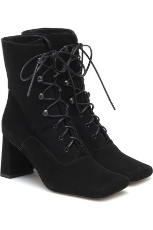 By Far Ankle Boots Claude aus Veloursleder