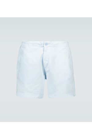 Orlebar Brown Shorts Bulldog mit Leinenanteil