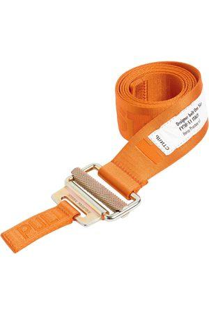 Heron Preston 4cm Logo Tech Webbing Belt