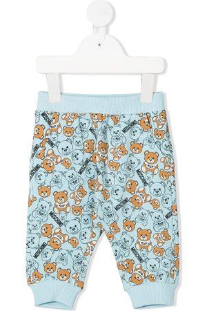 Moschino Baby Leggings & Treggings - Teddy Bear print trousers