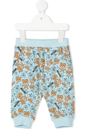 Moschino Teddy Bear print trousers