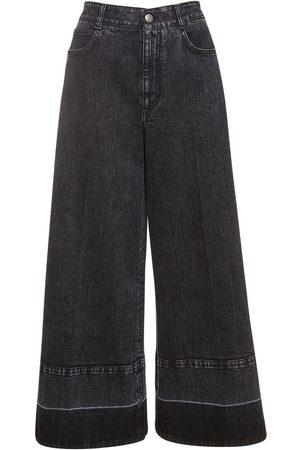 Stella McCartney Jeans Aus Eco-denim Mit Weitem Bein