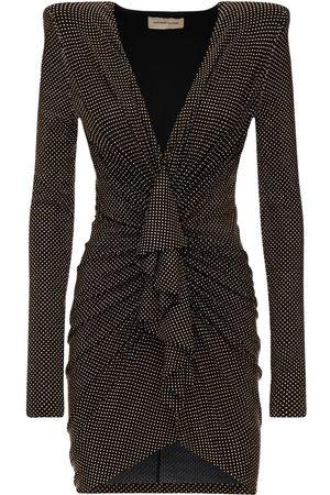 ALEXANDRE VAUTHIER Damen Freizeitkleider - Kleid Aus Baumwolljersey Mit Mikronieten