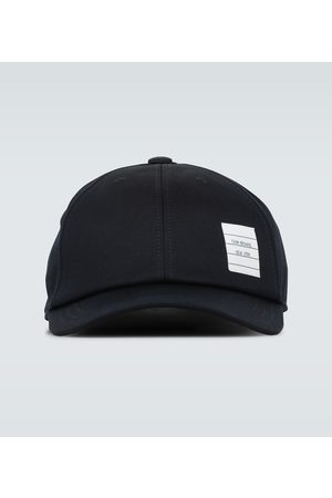 Thom Browne Herren Hüte - Baseballcap aus Baumwolltwill