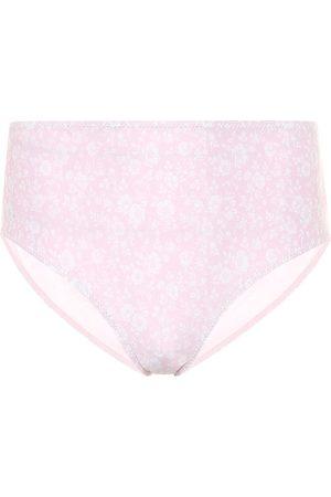 Ganni Bedrucktes Bikini-Höschen