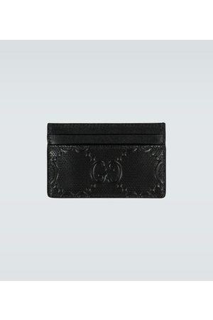 Gucci Logo-Kartenetui aus Leder