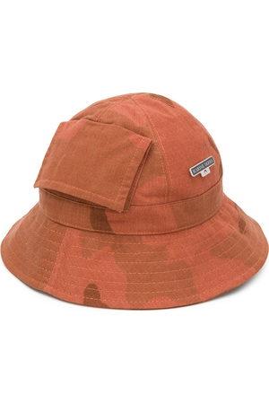 Marine Serre Printed bucket hat
