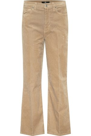 7 for all Mankind High-Rise Flared-Cordhose Alexa