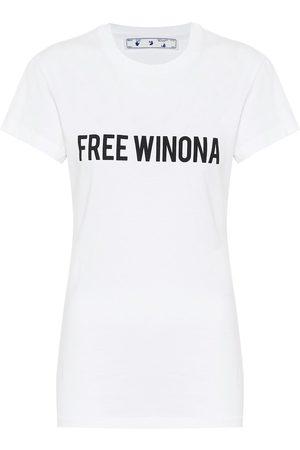 OFF-WHITE T-Shirt Free Winona aus Baumwolle