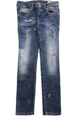 Diesel Jeans Aus Stretch-baumwolldenim Mit Rissen