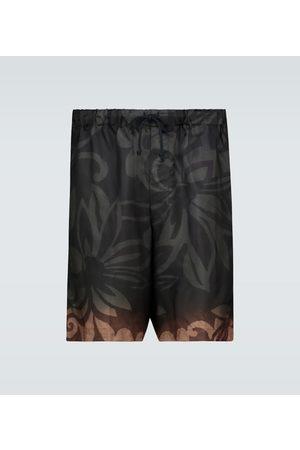 DRIES VAN NOTEN Geblümte Shorts