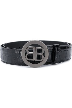 Balenciaga BB buckle belt