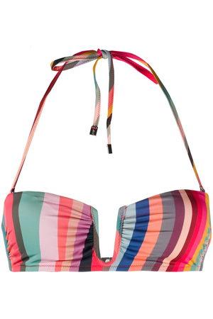 Paul Smith Swirl-print bikini top