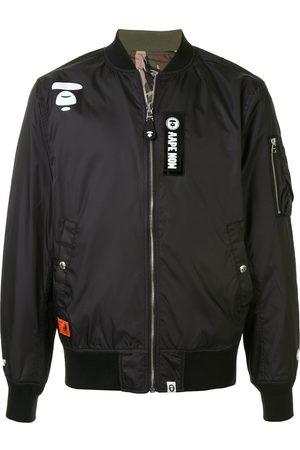 AAPE BY *A BATHING APE® Herren Sommerjacken - Patchwork bomber jacket
