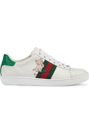 Gucci Damen Sneakers - Ace low-top sneakers