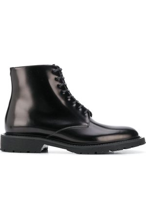 Saint Laurent Army lace-up boots
