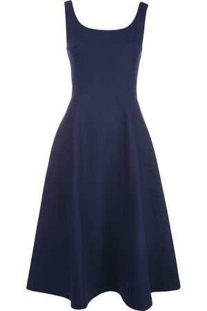 ADAM LIPPES Scoop neck flared dress