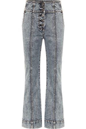 ULLA JOHNSON High-Rise Bootcut Jeans Ellis