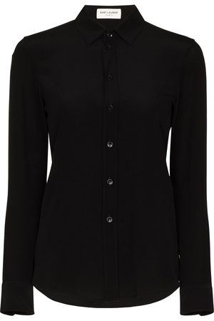 Saint Laurent Classic collar silk shirt