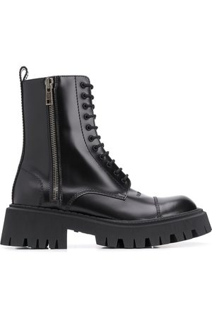Balenciaga Herren Stiefel - Tractor 20 mm lace-up boots