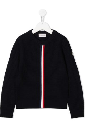 Moncler Crochet knit wool jumper