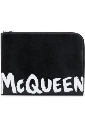 Alexander McQueen Logo-print document holder