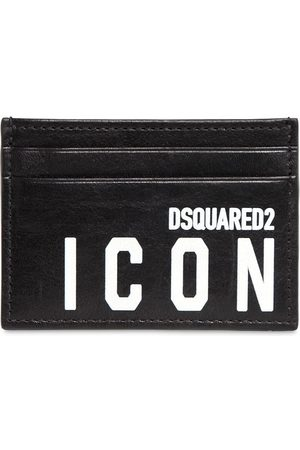 Dsquared2 Kartenetui Aus Leder Mit Druck