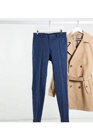 ASOS Herren Chinos - Tall super skinny smart trousers in linen
