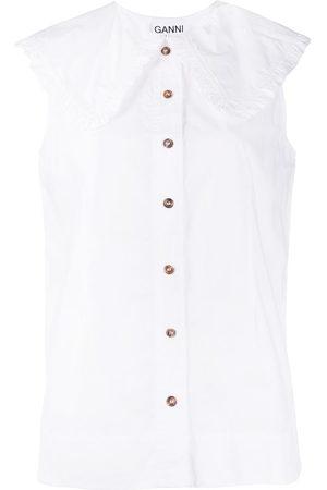 Ganni Organic cotton blouse