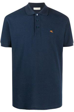Etro Embroidered logo polo shirt