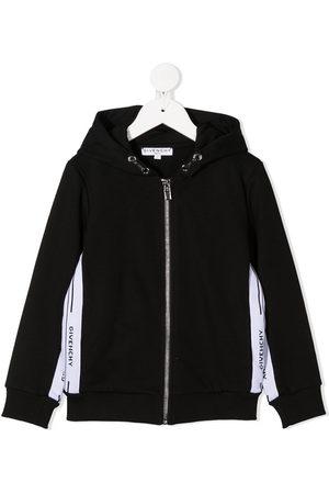 Givenchy Mädchen Lange Ärmel - Branded long-sleeve hoodie