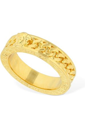 VERSACE Herren Ringe - Medusa & Chain Thick Ring