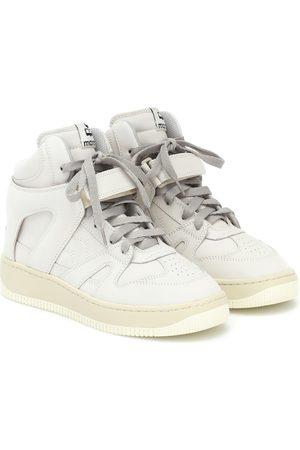 Isabel Marant Sneakers Brooklee aus Leder