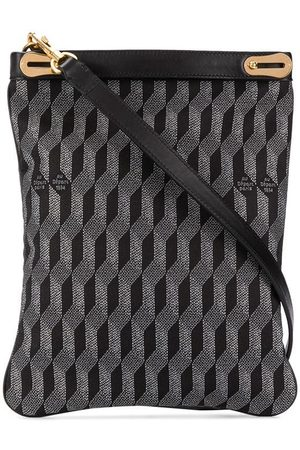 AU DEPART Geometric pattern tote bag