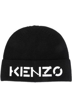Kenzo Logo print beanie