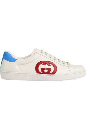 Gucci Ace logo-patch sneakers