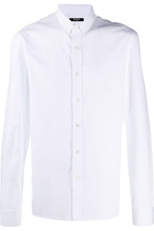 Balmain Fitted cotton shirt