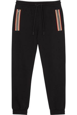 Burberry Icon-stripe track pants