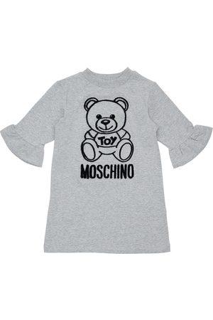 Moschino Kleid Aus Baumwollfleece