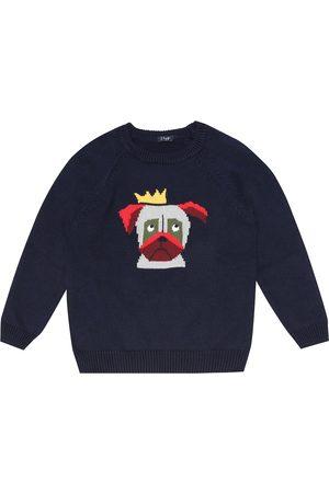 Il gufo Pullover aus Baumwolle
