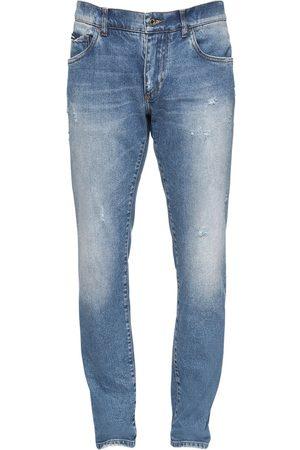 Dolce & Gabbana 16.5cm Jeans Aus Baumwolldenim Mit Logo